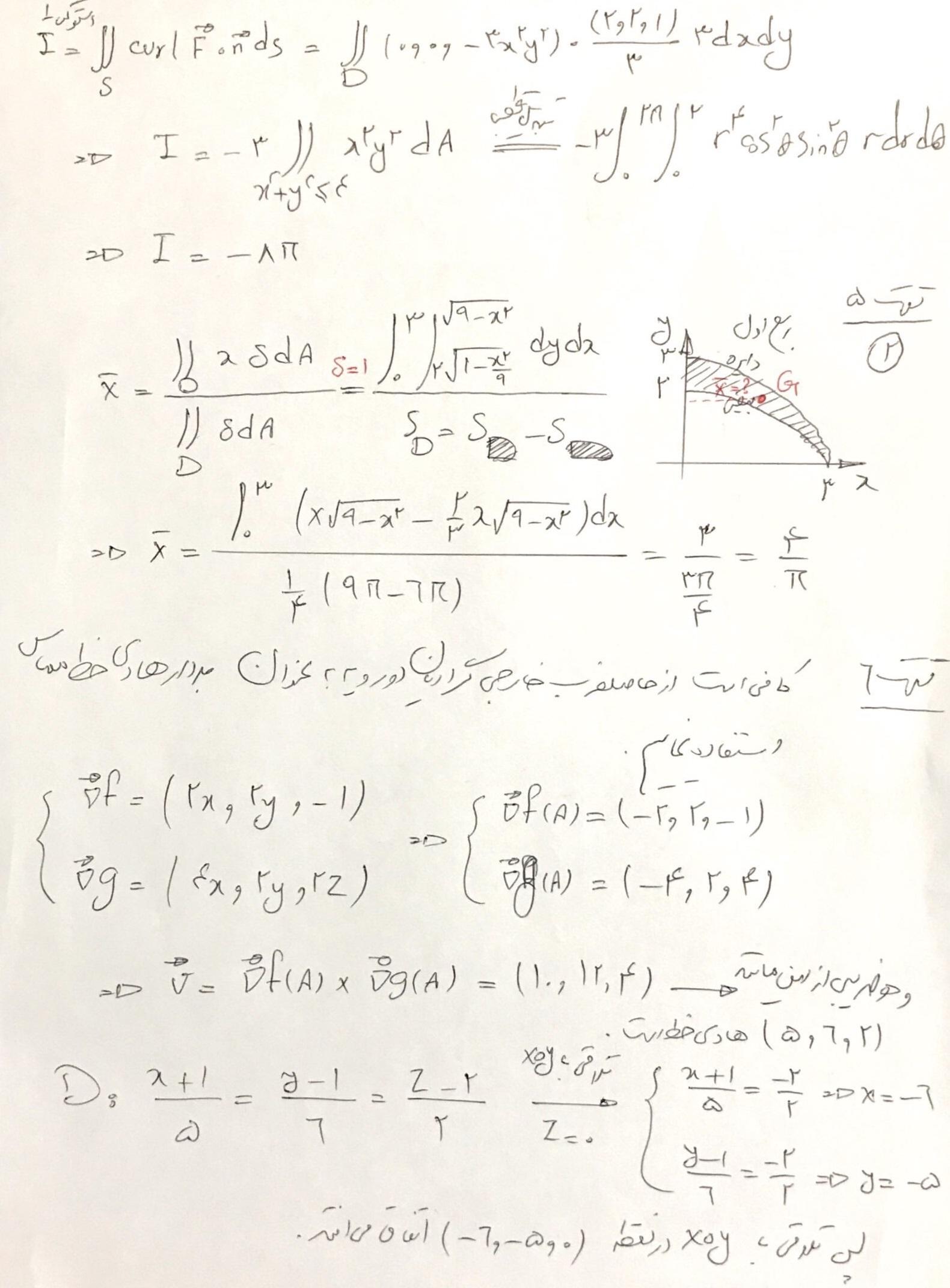 پاسخنامه تشریحی ریاضی عمومی