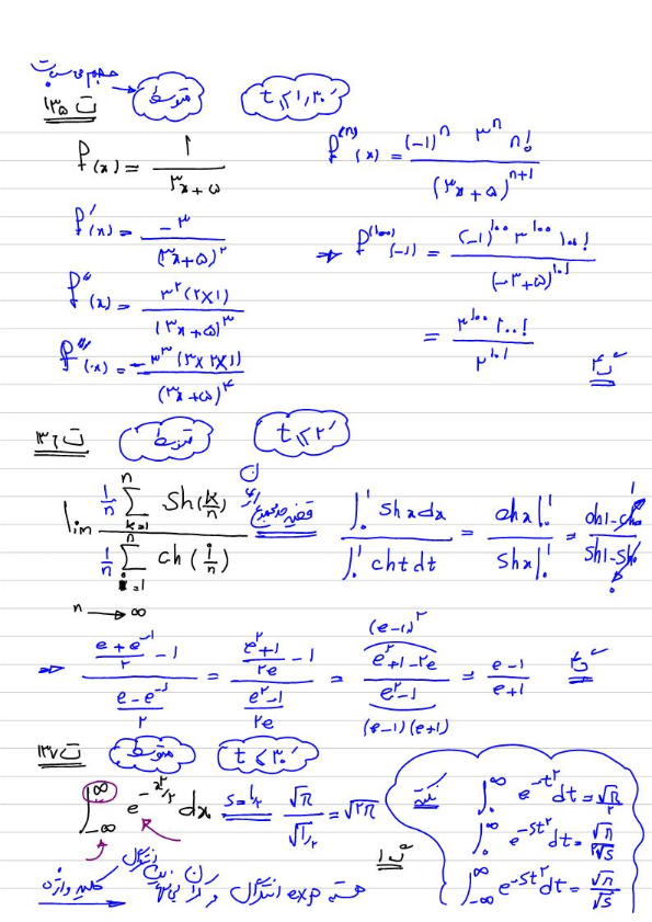 پاسخنامه تشریحی ریاضی MBA 97
