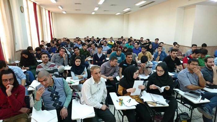 کلاس نکته و تست ریاضی کنکور 95 (دانشگاه خواجه نصیر)